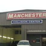 Photo taken at Manchester Collision by Miranda C. on 2/14/2014