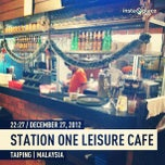 Photo taken at Station One Leisure Cafe by Amirun R. on 12/27/2012