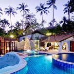 Photo taken at Panviman Resort Koh Phangan by Groupon Malaysia on 11/21/2012