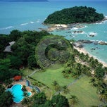 Photo taken at Mutiara Burau Bay Beach Resort by Groupon Malaysia on 11/16/2012