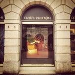 Photo taken at Louis Vuitton by Samuel M. on 12/17/2012