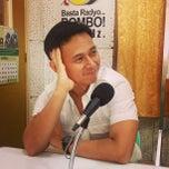 Photo taken at Bombo Radyo Laoag by Sugar S. on 4/18/2013