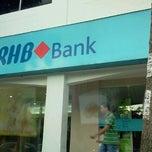 Photo taken at RHB Bank Berhad by Roduz H. on 2/1/2012