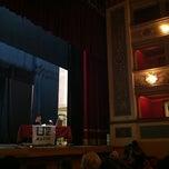 Photo taken at Teatro Giuseppe Manini by Aroti M. on 2/26/2013
