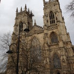 Photo taken at York Minster by Jan C. on 5/9/2013