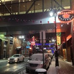 Photo taken at Greektown Historic District by Anthony C. on 2/11/2013