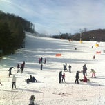 Photo taken at Cataloochee Ski Area by Alex S. on 12/31/2012