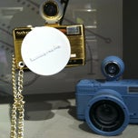 Photo taken at Lomography Gallery Store Santa Monica by Amy G. on 1/5/2013