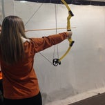 Photo taken at Texas Archery Academy by brittany h. on 1/25/2014