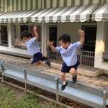 Photo taken at Playground by Pat B. on 10/29/2012