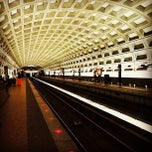 Photo taken at McPherson Square Metro Station by Tony J. on 12/28/2012