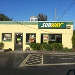 "Photo taken at SUBWAY by WILFREDO ""WILO"" R. on 3/9/2013"