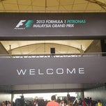 Photo taken at Sepang International Circuit (SIC) by mohd f. on 3/25/2013