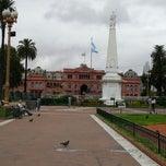 Photo taken at Plaza de Mayo by Chaska M. on 2/24/2013