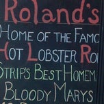Photo taken at Roland's Seafood Grill and Iron Landing by Sandy A. on 5/29/2013