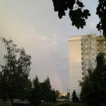 Photo taken at Остановка «Улица Кольцова» by Paulyuk B. on 6/8/2013