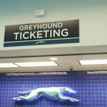 Photo taken at Greyhound Bus Lines by Laurie M. on 5/10/2013