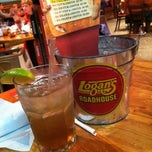 Photo taken at Logan's Roadhouse by Heather S. on 12/30/2012