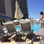 Photo taken at Hilton Pool by Mashunya I. on 5/2/2014