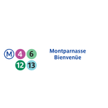 Photo taken at Métro Montparnasse–Bienvenüe [4,6,12,13] by RATP on 7/15/2013
