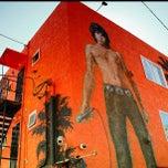 Photo taken at Jim Morrison Mural by Ken R. on 8/13/2013