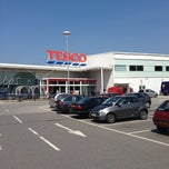 Photo taken at Tesco by Michael S. on 7/9/2013