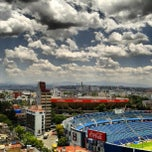 Photo taken at Estadio Azul by patriciaph on 5/31/2013