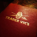 Photo taken at Trader Vic's by Rosie Mae on 5/21/2015