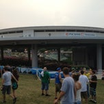 Photo taken at PNC Bank Arts Center by Victoria M. on 7/10/2013