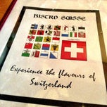 Photo taken at Bistro Suisse by Katherine D. on 5/16/2013