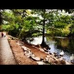 Photo taken at Lady Bird Lake Trail by Sally on 10/16/2012