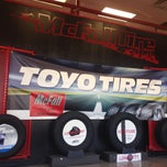 Photo taken at McFall Tires & Auto by melissa c. on 10/25/2013