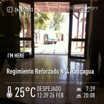 Photo taken at Regimiento Reforzado Nº4 Rancagua by Gonzalo M. on 2/26/2013
