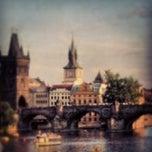 Photo taken at Staroměstská mostecká věž | Old Town Bridge Tower by Nikolas P. on 4/9/2013
