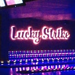 Photo taken at Lucky Strike New York by Luis R. on 9/15/2012