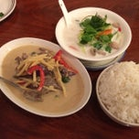 Photo taken at Grandma's Thai Kitchen by Andrew A. on 10/13/2014