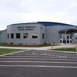 Photo taken at John F. Kennedy Civic Arena by Andrew B. on 4/19/2013
