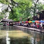 Photo taken at The San Antonio River Walk by Allen B. on 5/27/2013