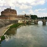 Photo taken at Giardini di Castel Sant'Angelo by Roman P. on 7/24/2013
