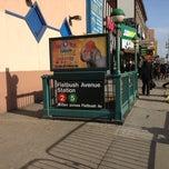 Photo taken at NYCT - Flatbush Ave CRC (2) (5) by 🚇ⓂRailkingⓂ🚇 on 3/10/2013