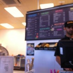 Photo taken at Wholly Bagels & Pizza by Jo B. on 9/3/2013