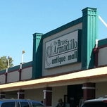 Photo taken at Brass Armadillo Antique Mall by Richard F. on 3/13/2013