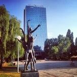Photo taken at Panorama Zagreb Hotel by Pavel I. on 8/16/2013