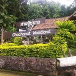 Photo taken at Chachanat Woodland Resort by Saran Y. on 7/31/2014