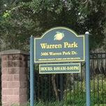 Photo taken at Warren Park by Robert S. on 9/15/2013