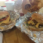 Photo taken at Five Guys by Angel D. on 8/8/2013