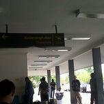 Photo taken at Bandara H. A. S. Hanandjoeddin (TJQ) by Jhoni S. on 10/14/2012