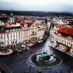 Photo taken at Staroměstské náměstí | Old Town Square by Virginia Y. on 4/20/2013