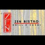 Photo taken at Zen Bistro Sushi by Jose D. on 5/31/2013