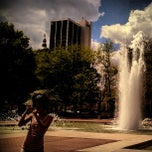 Photo taken at Freimann Square by Tyler K. on 5/8/2013